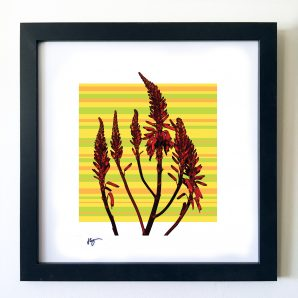 #OF1606 Wild Red 16x16 Frame