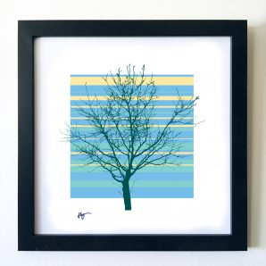 #OF1608 Tree Naked 16x16 Frame
